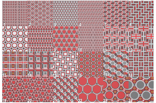 Textures with POV-Ray - Regulare patterns: tiling